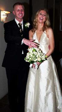 丹麦羽毛球公主马尔廷完婚