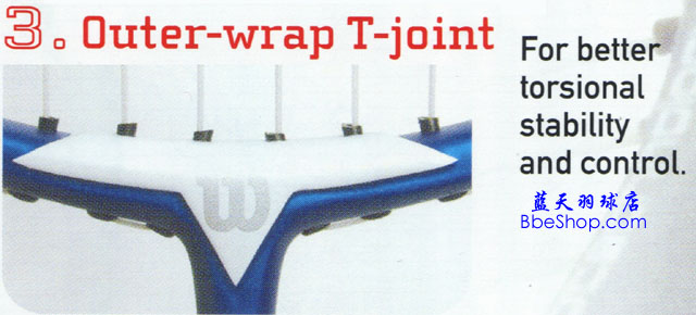Outer wrap T joint